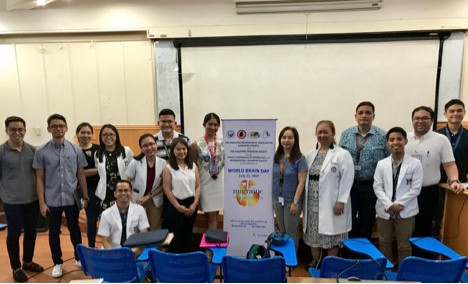 Organizers and participants of the Lay Forum at the Philippine General Hospital during World Brain Day