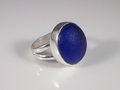 'Blue Moon' Ring - Size 7