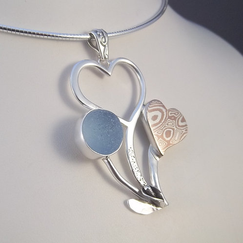 'Love in Blue(m)' Pendant