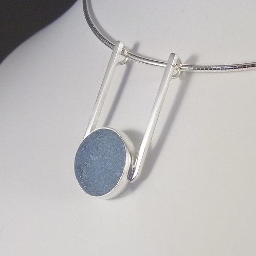 Soft Blue 'SeaCatcher' Pendant