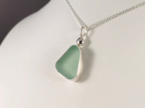 Soft Green/Sea Foam Pendant