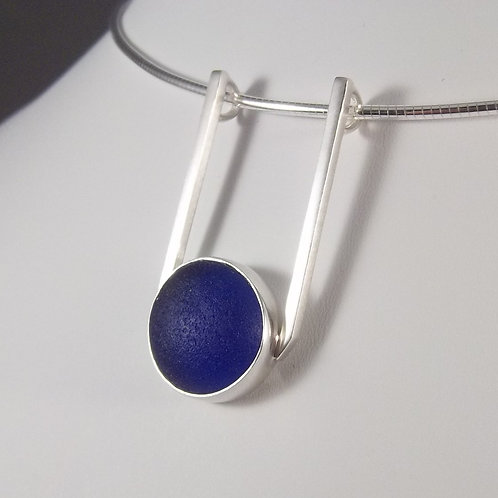Cobalt Blue 'SeaCatcher' Pendant