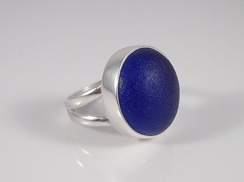 'Deep Blue Sea' Ring - Size 8