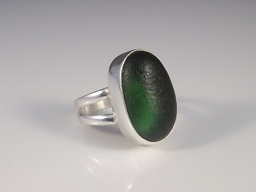 'Evergreen' Ring - Size 8.5