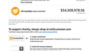 Smile...with Amazon