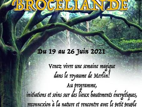 VOYAGE INITIATIQUE EN BROCELIANDE