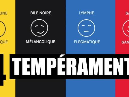 Les 4 sortes de Tempéraments humains