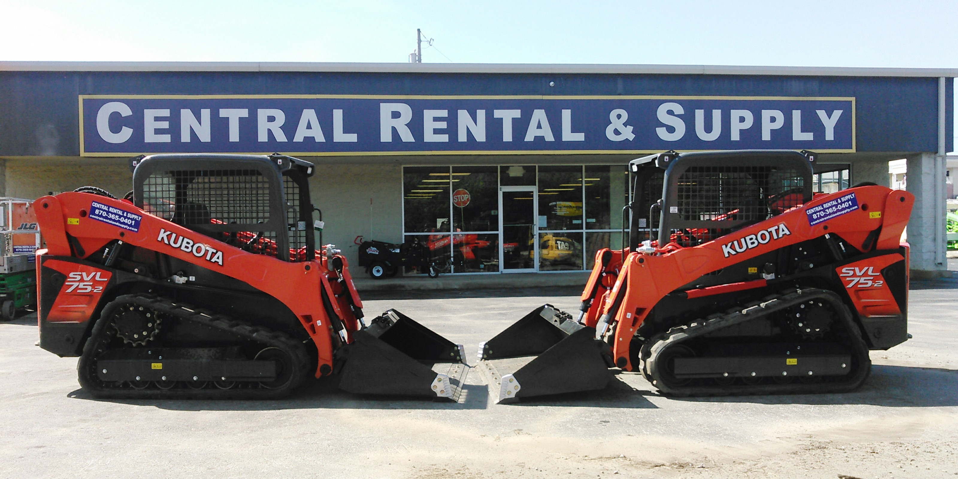 Central Rental and Supply of Harrison & Russellville, AR