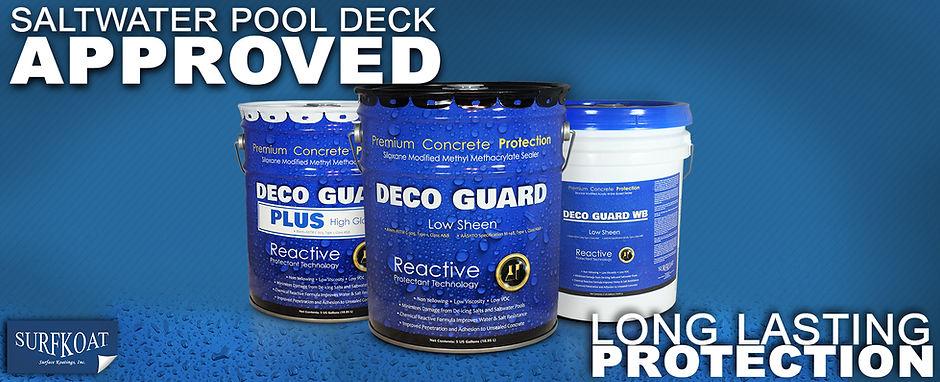 Salt Water Resistant Sealer