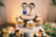 Cupcake no casamento - foto por Ale Borges