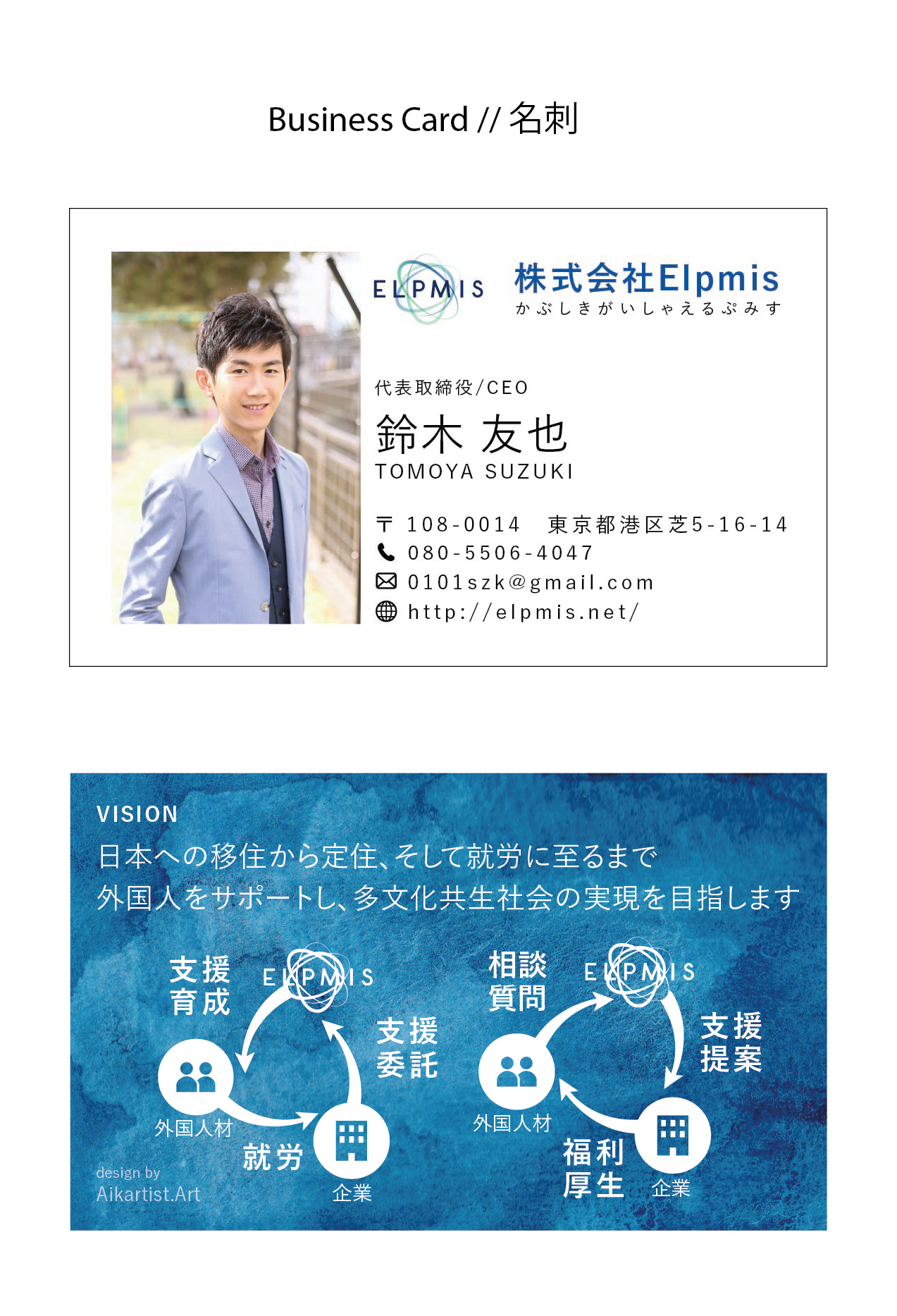 ELMPMIS Business Card