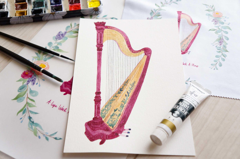 Red Harp