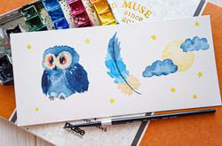 Starry Owl