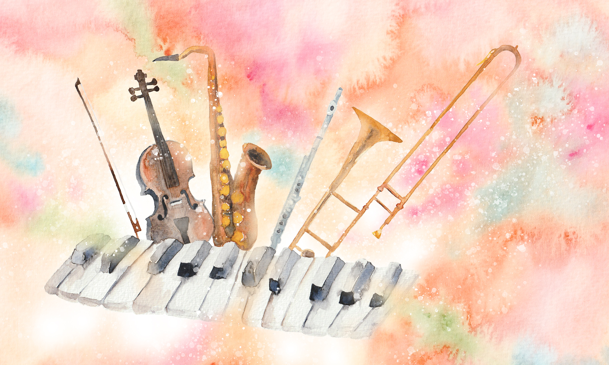 Music Lesson Web Banner