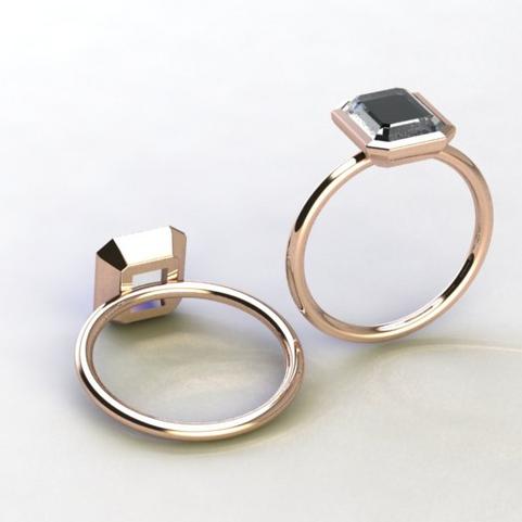 14k Rose Gold Freya Ring