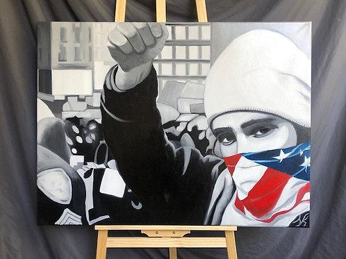 Patriotic Graffiti