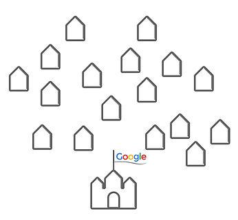 Google und das Dorf Internet