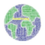 Content Logo: Die Erde aus Buchstaben