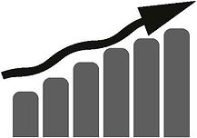 Ansteigender Graph