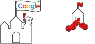 Google erkennt negatives Feedback der Nutzer