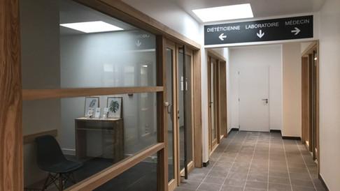 Couloir maison médicale