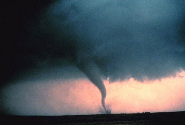 Tornado Credit: NOAA Photo Library, NOAA Central Library; OAR/ERL/National Severe Storms Laboratory (NSSL).