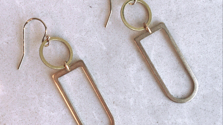Axiom Geometry Earring