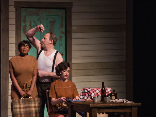 Marilyn Barner Anselmi's You Wouldn't Expect. August Wilson Theater, 2016. Photo Credit: Martha Rial