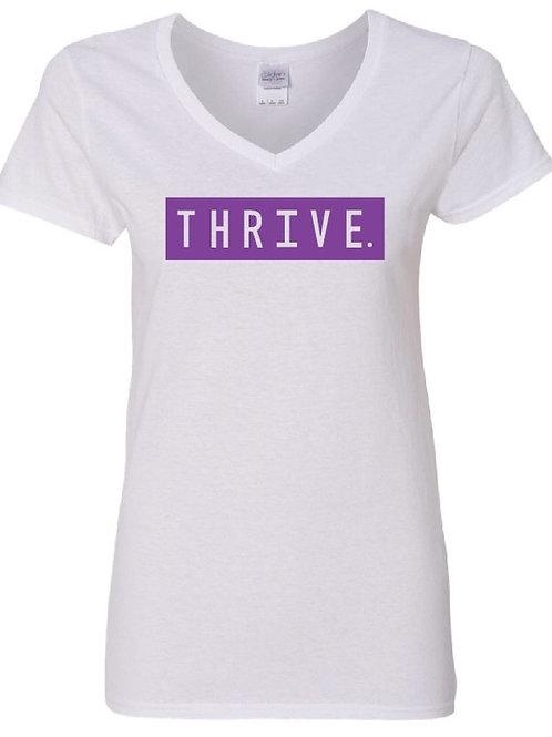 Thrive T-Shirt V-Neck (Ladies)