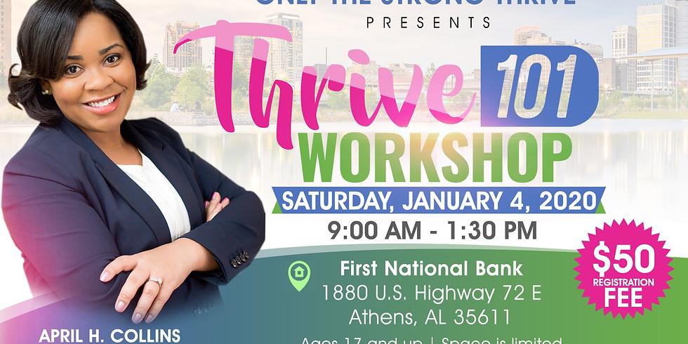 Thrive 101 Workshop