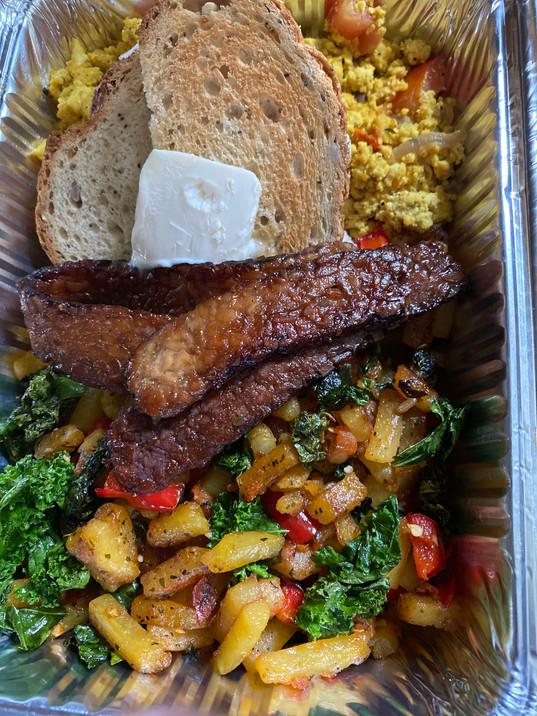 Cabo Vegan's Breakfast Box