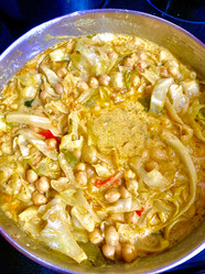 Cocunut Chickpea Curry