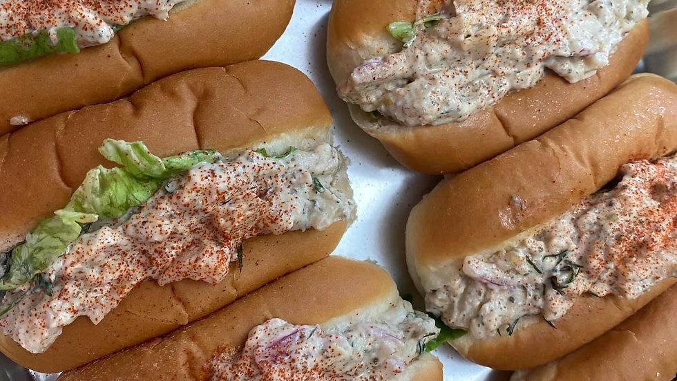 Vegan Lobster-Less Rolls