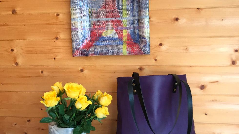 ANNA : Purple Shopper