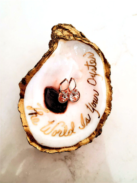 Gilded Oysters Dishes