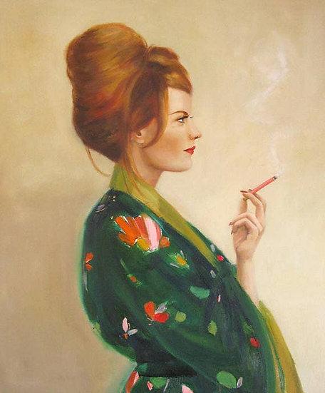 The Pasadena Housewife Art Print