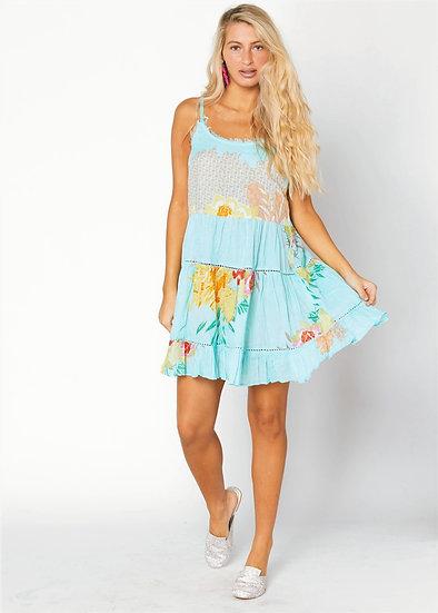 Blue Cotton Sundress