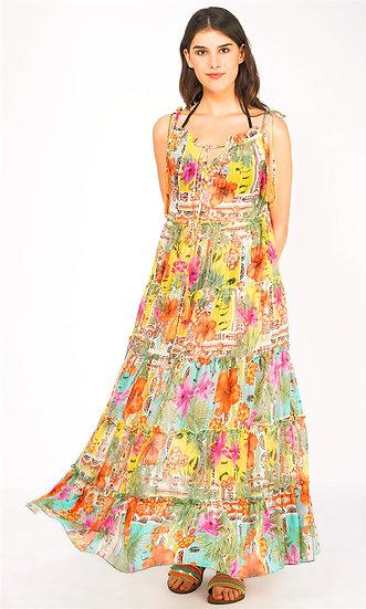 Stunning Summer Boho Maxi Dress