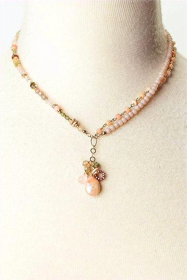 Peonies Transitional Necklace/Bracelet