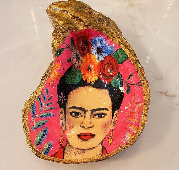 Frida Khalo Oyster Dish