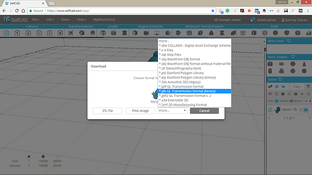 Now upload 3D Models to Facebook to appear in your