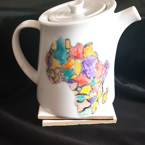 Teapot and 2 Cups Set