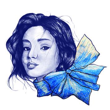 青 :: Blue