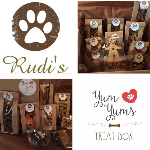 🐶Rudi's - Large Yum Yums Treat box🐶