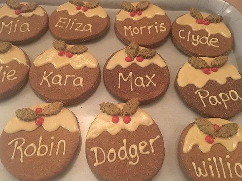 Personalised -Christmas Pudding