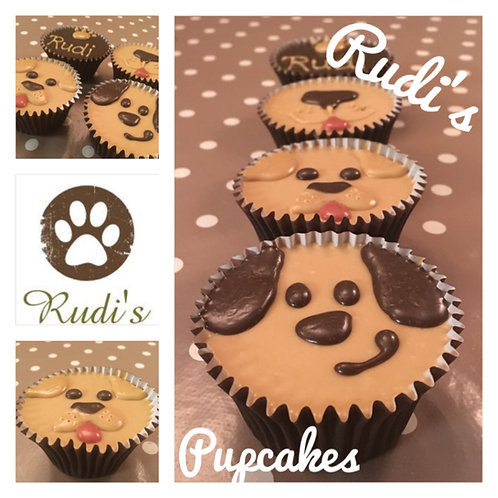 Doggy Pupcakes - Box of 4