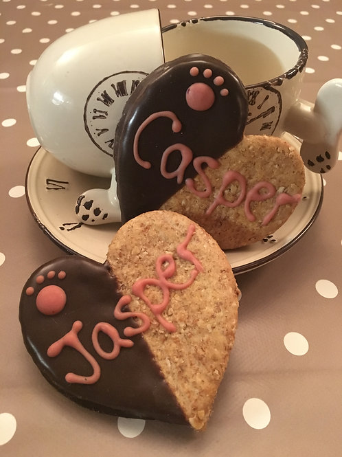 Personalised Heart Cookie