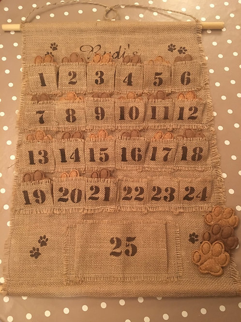 Rudi's - Doggy Advent Calendar - CALENDAR ONLY