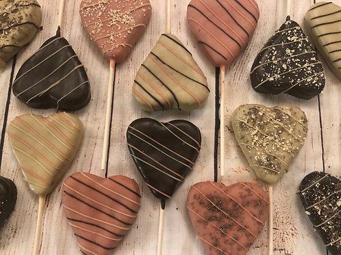Heart Lollipups