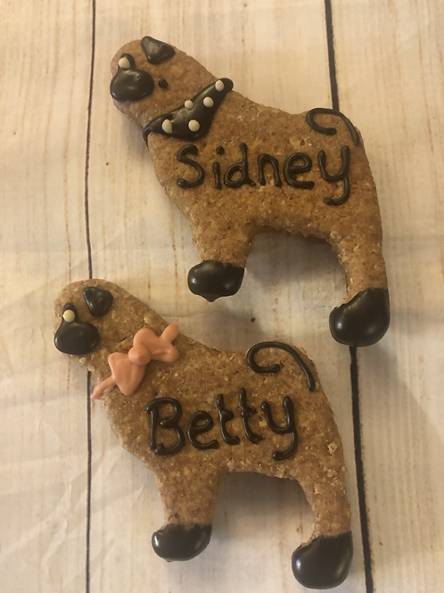 Gingerpug  Cookie- Personalised